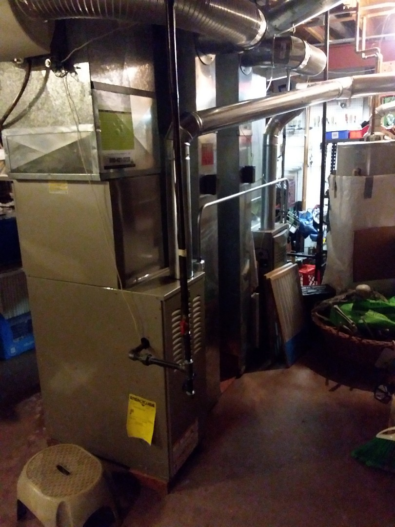Palos Park, IL - Carrier furnace air conditioner replacement