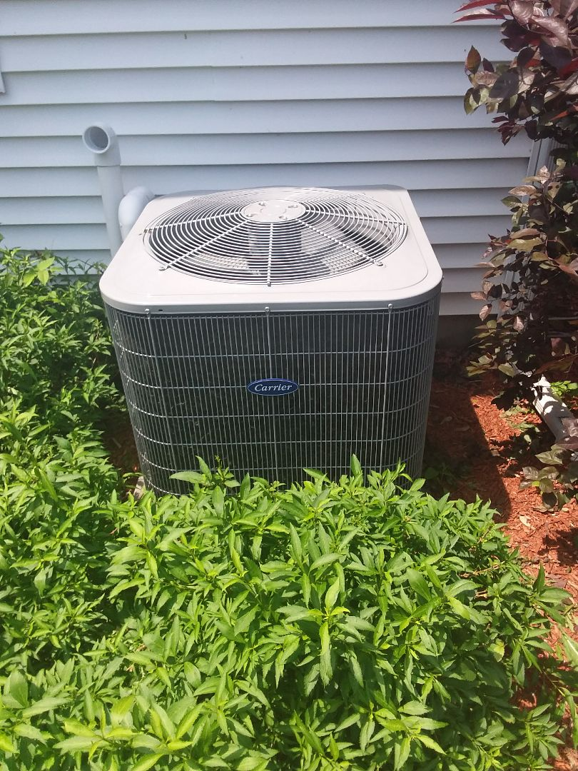 Aurora, IL - Repairing a Carrier AC unit