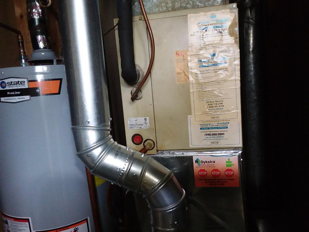 Streamwood, IL - Water leaks on furnace