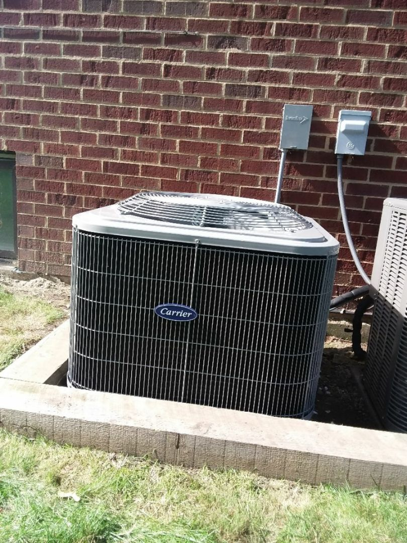 Park Ridge, IL - Installation of a carrier air conditioning system