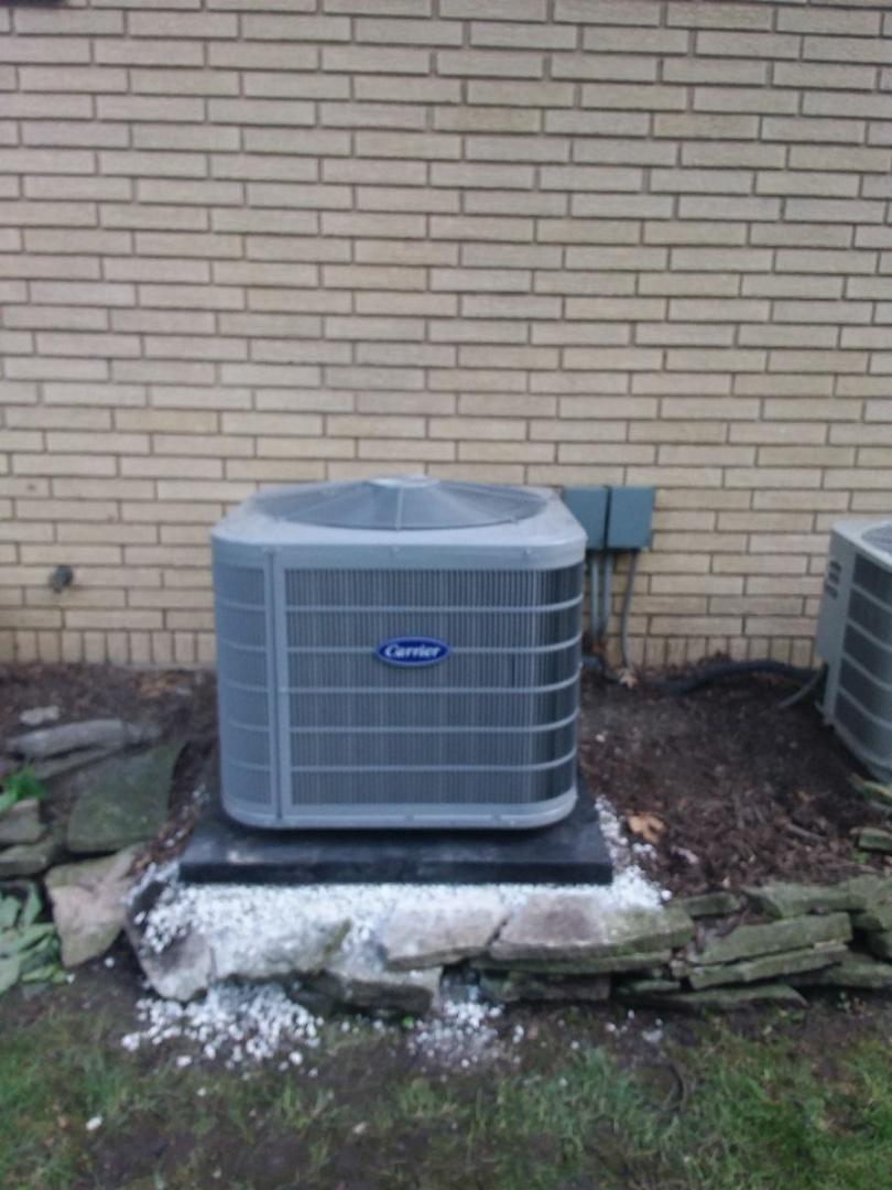 La Grange Park, IL - Installation of carrier air conditioner