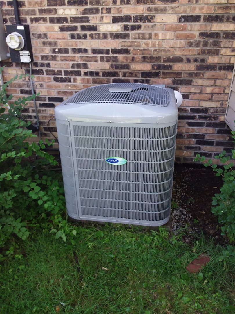 Palos Heights, IL - Maintaining Carrier AC unit