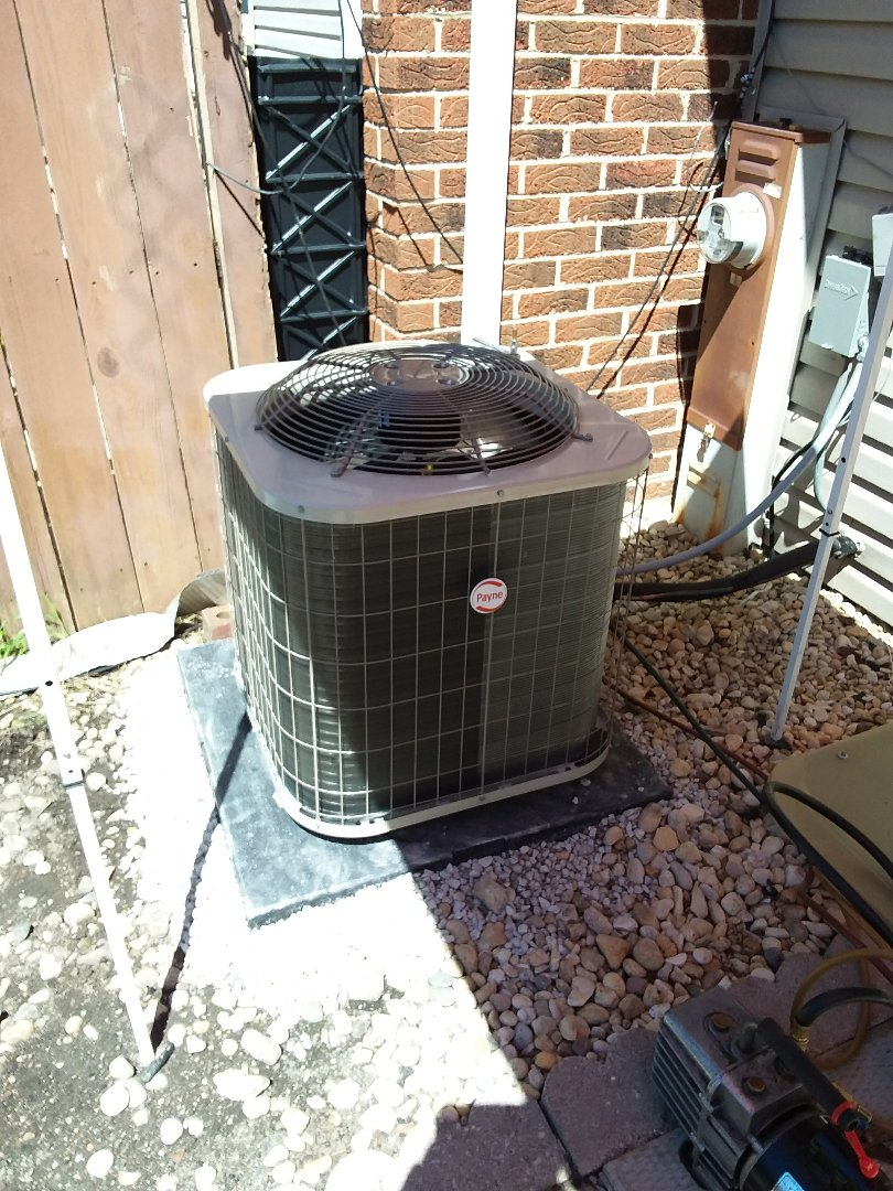 Tinley Park, IL - Payne condencer coil replacement