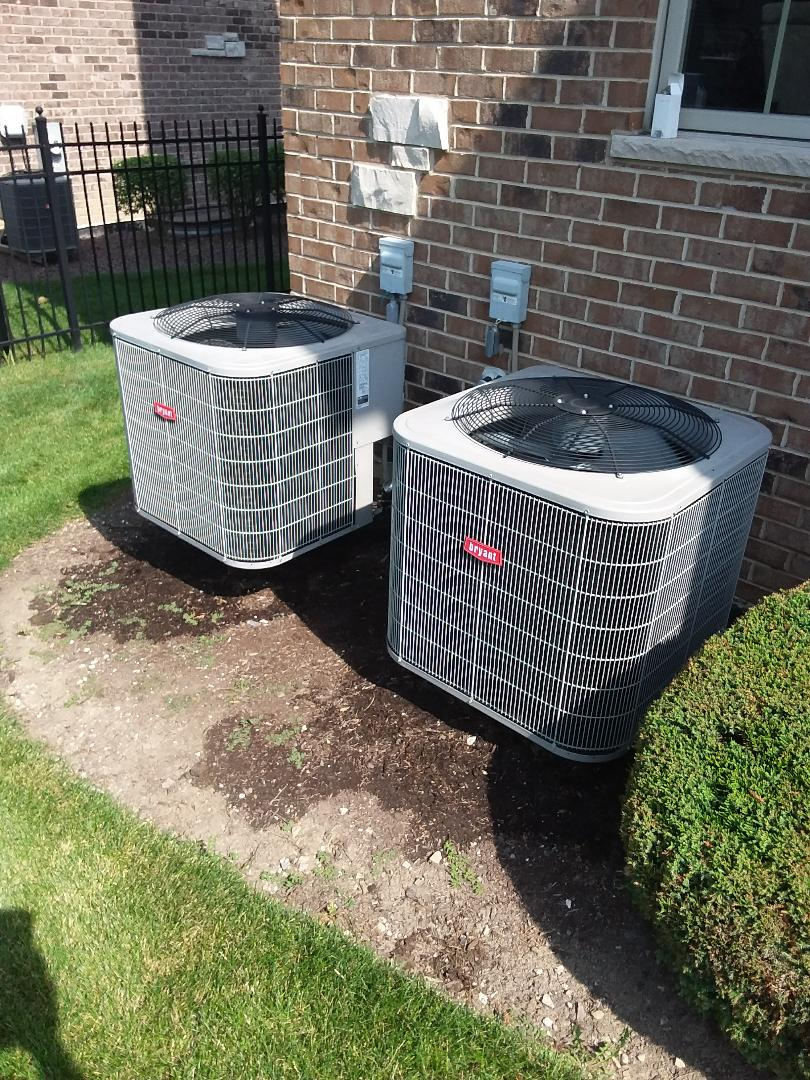 Orland Park, IL - Maintaining to Bryant AC systems