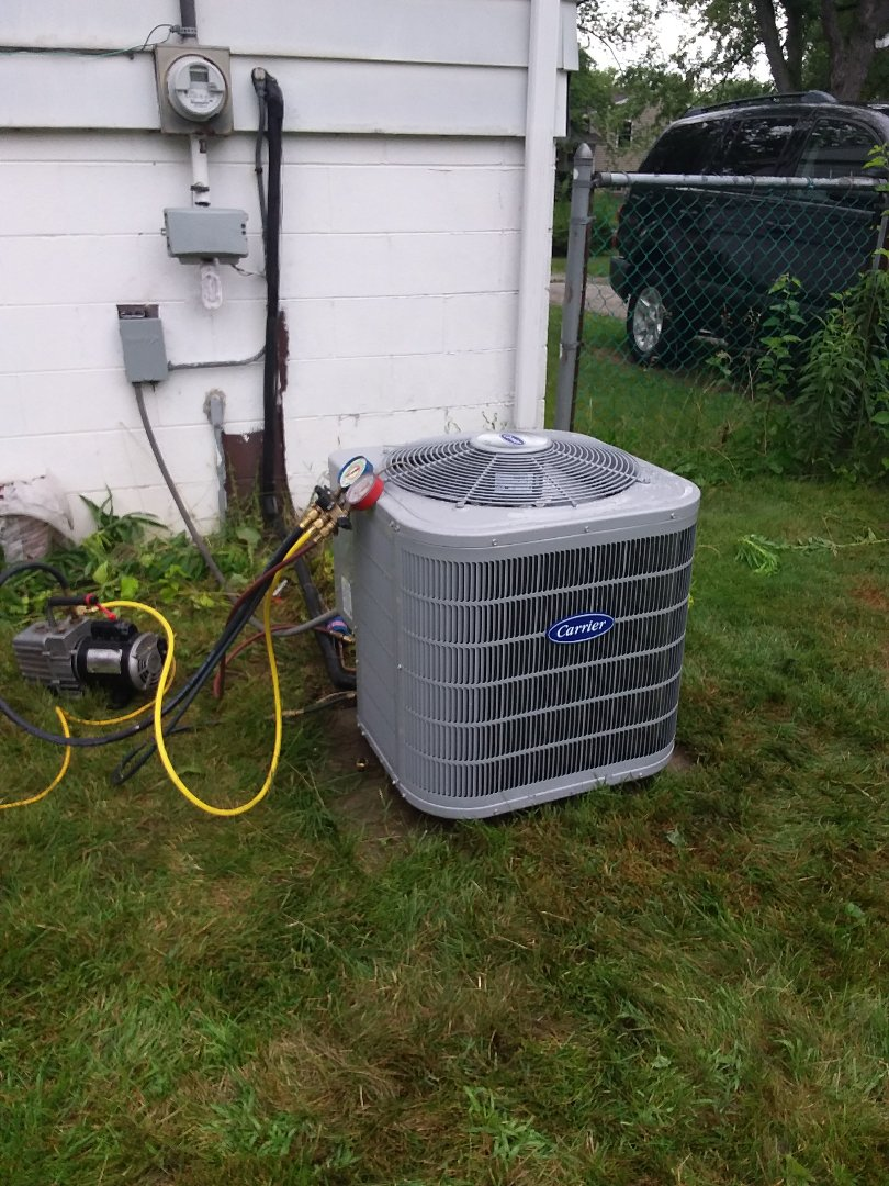 Glenwood, IL - CARRIER air conditioner replacement