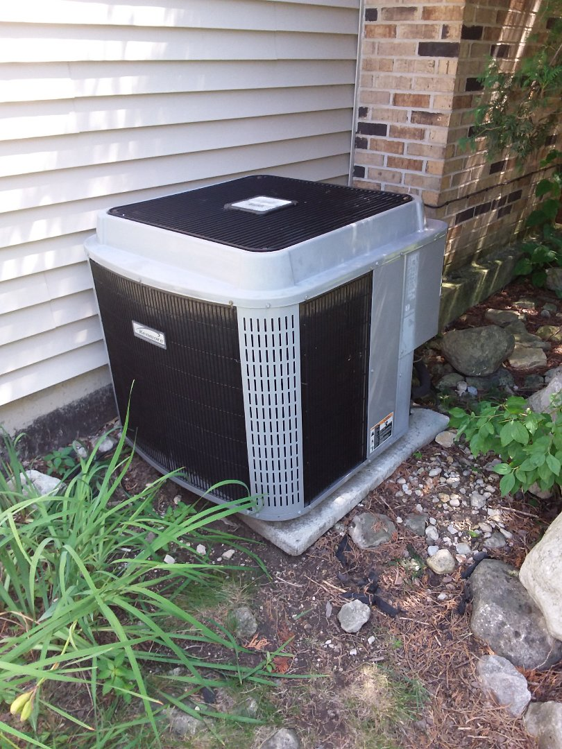 Aurora, IL -  repairing a Kenmore AC system