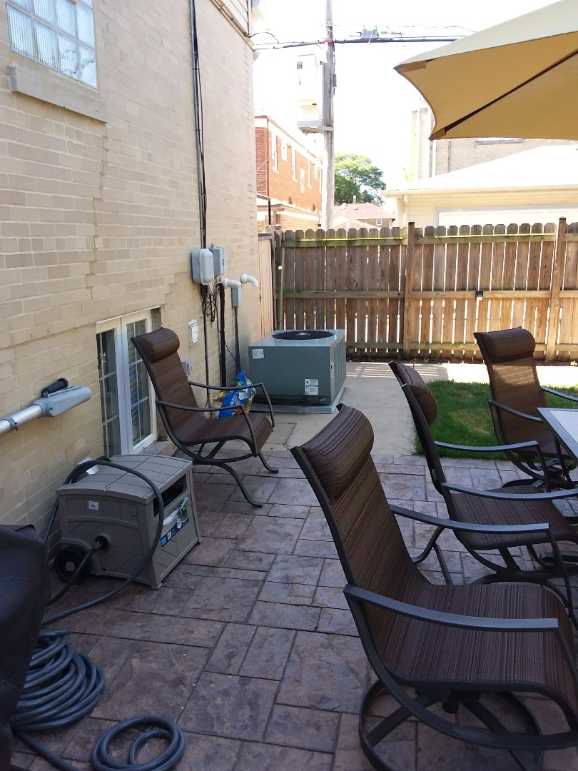 La Grange Park, IL - Carrier air conditioning system installation