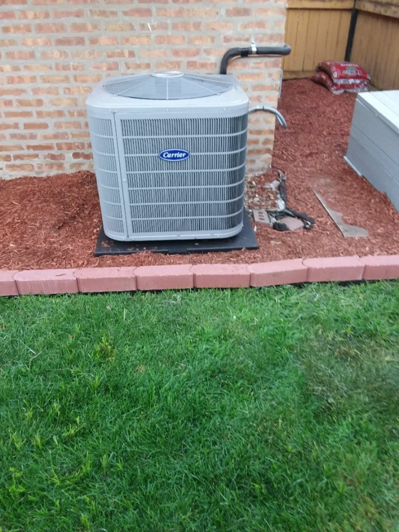 Chicago, IL - Carrier air conditioning system installation
