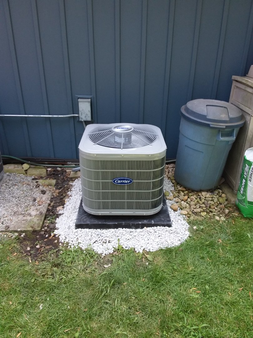 Worth, IL - Carrier air conditioner installation