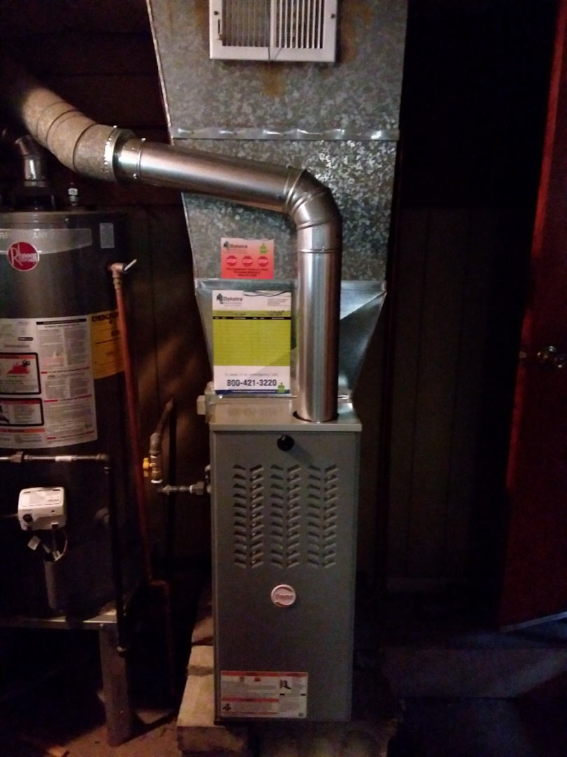 Worth, IL - Payne furnace installation