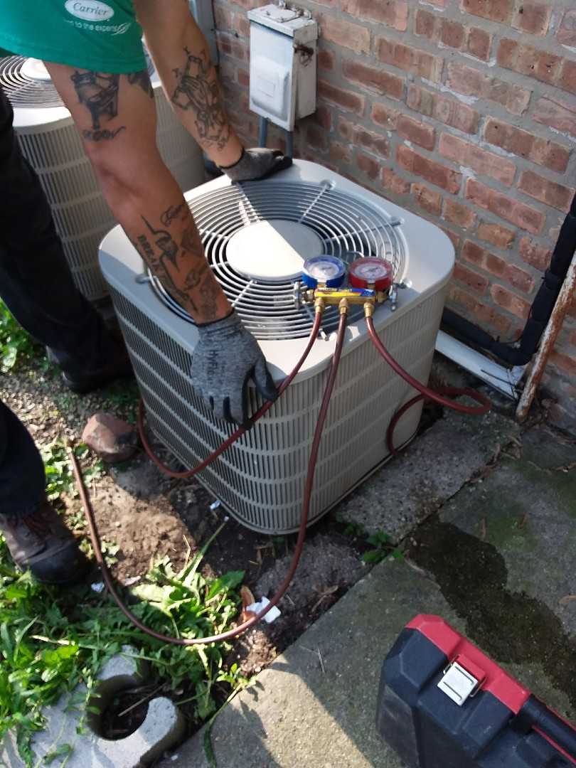 Worth, IL - CARRIER air conditioner replacement