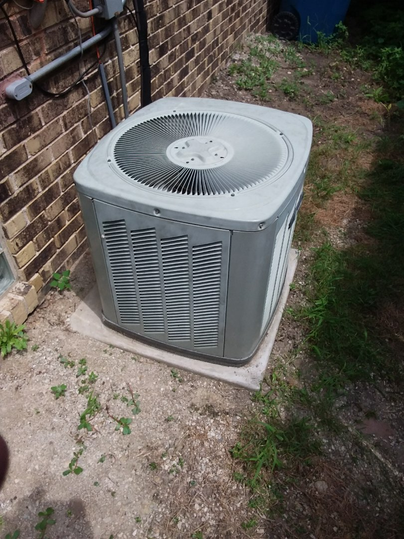 South Holland, IL - Repairing a Trane AC unit