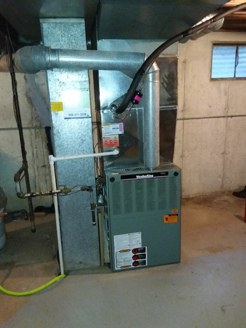 Orland Park, IL - Payne air conditioning system installation