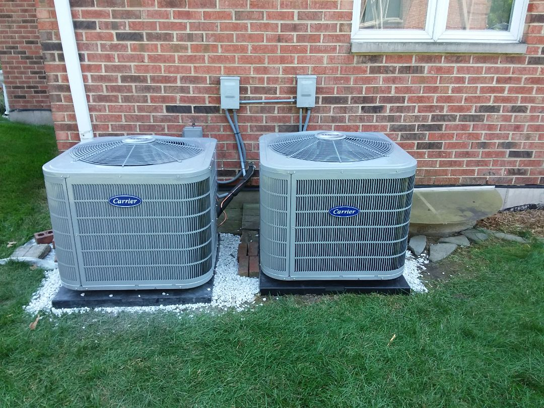 Palos Park, IL - New carrier furnaces and ACs