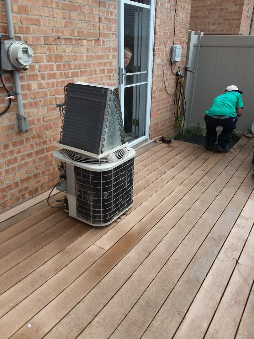 Chicago, IL - Carrier air conditioner replacement