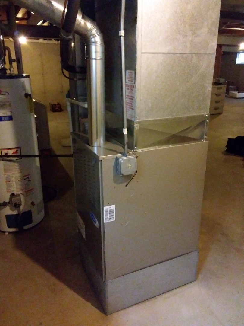 Homewood, IL - Carrier furnace installation