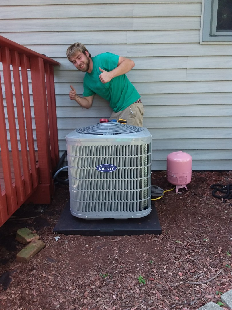 Monee, IL - Carrier air conditioner replacement