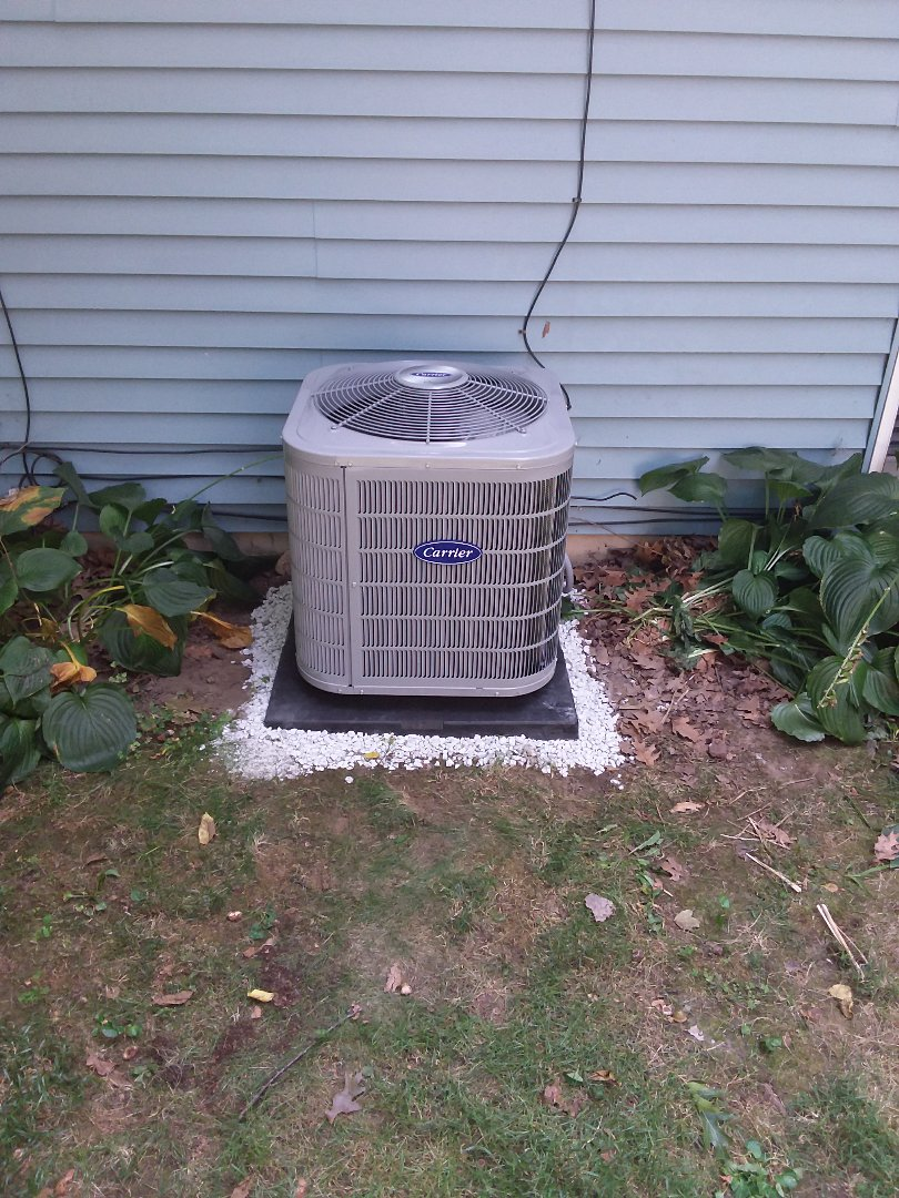 New Lenox, IL - Reem Air Handler and Carrier condenser