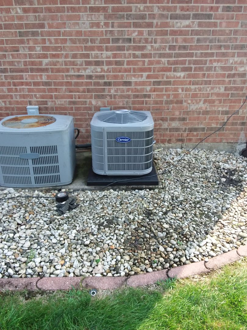 Oak Forest, IL - Carrier air conditioner installation