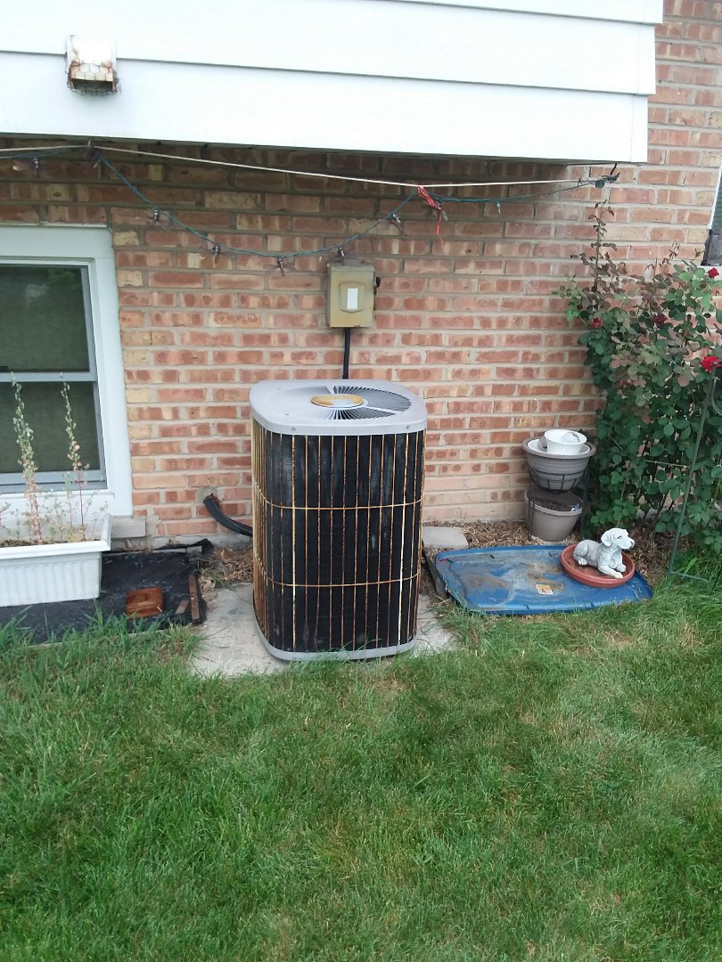 South Holland, IL - Installation of carrier air conditioner replace old carrier air conditioner