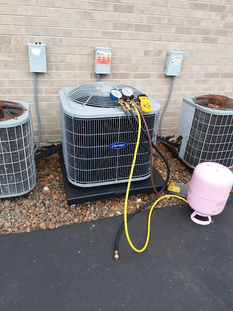 Alsip, IL - Carrier furnace / air conditioner replacement  replacement