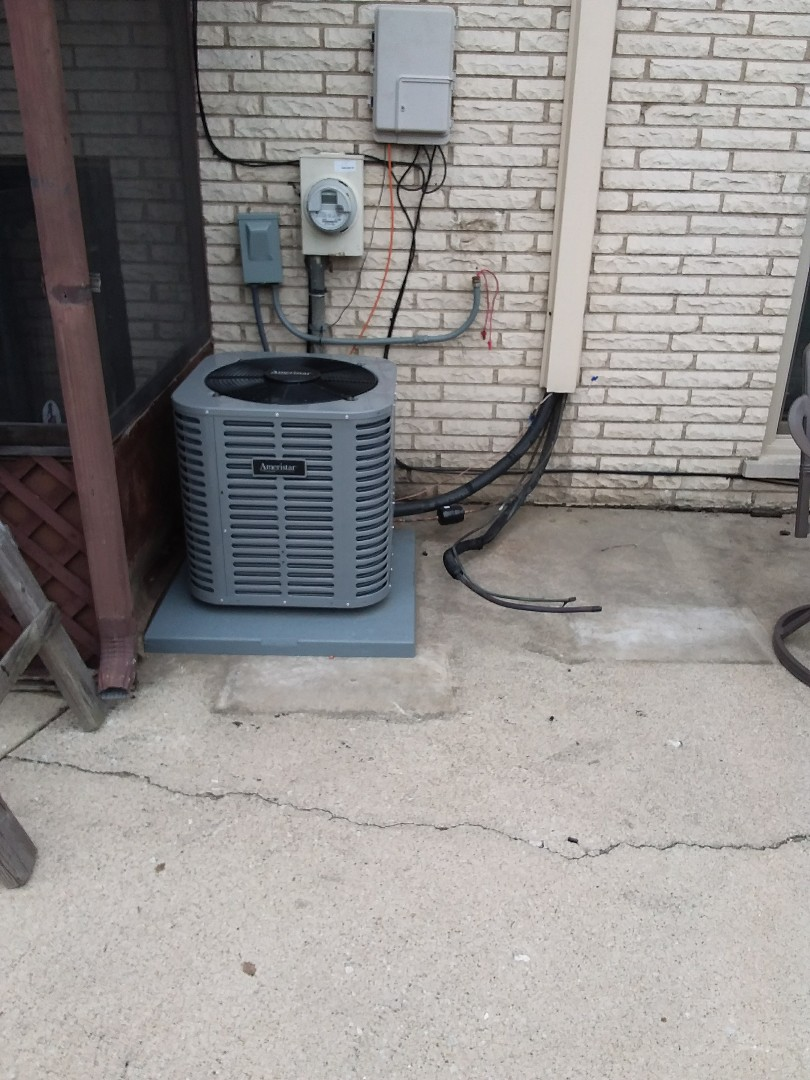 Evergreen Park, IL - CARRIER air conditioner/air handler replacement