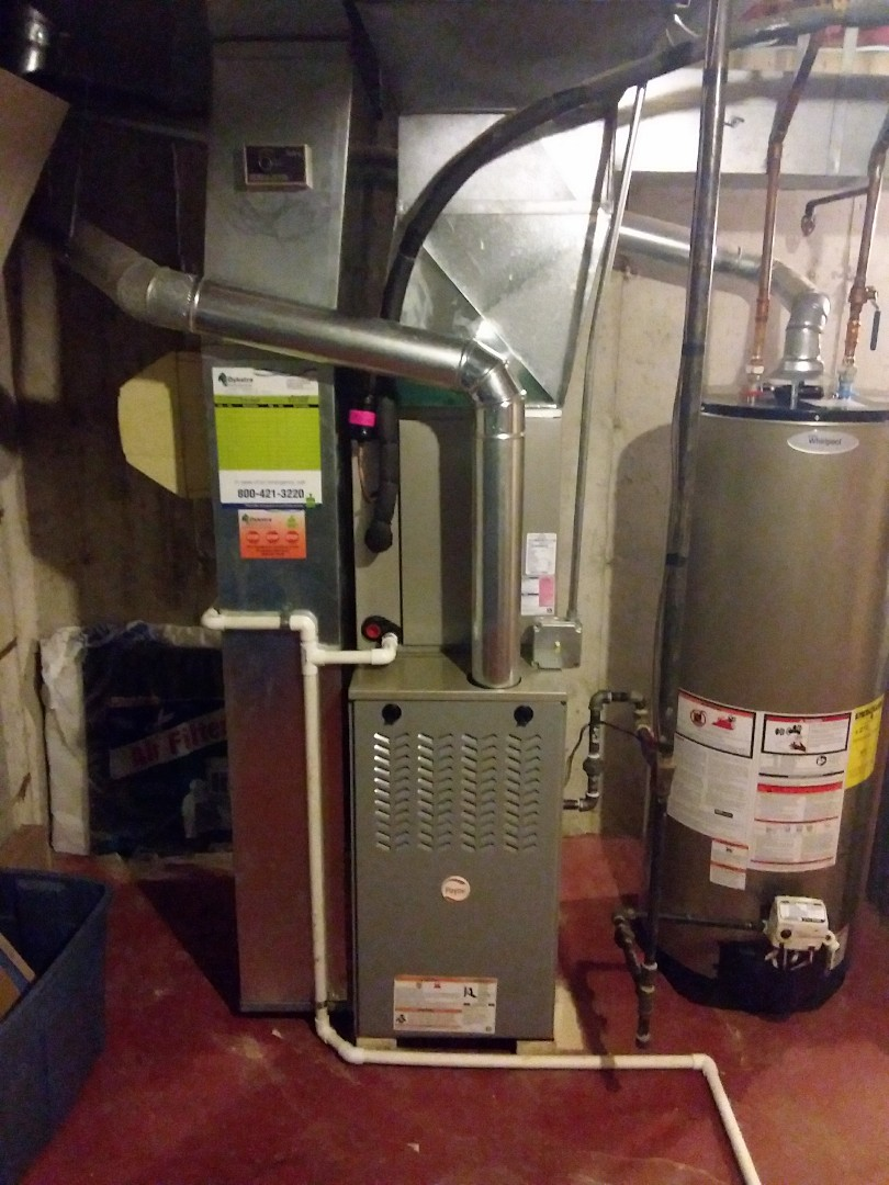 Tinley Park, IL - Payne furnace and Air Conditioner replacement