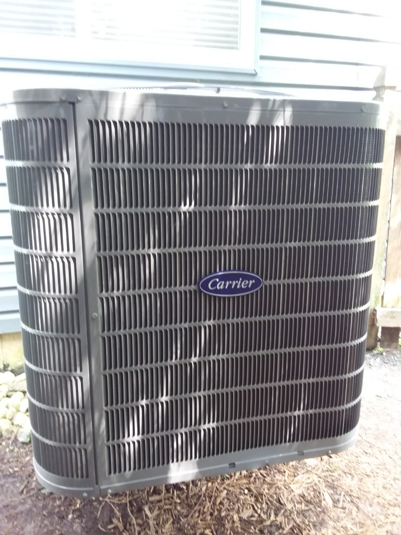 South Elgin, IL - Installation of carrier air conditioner