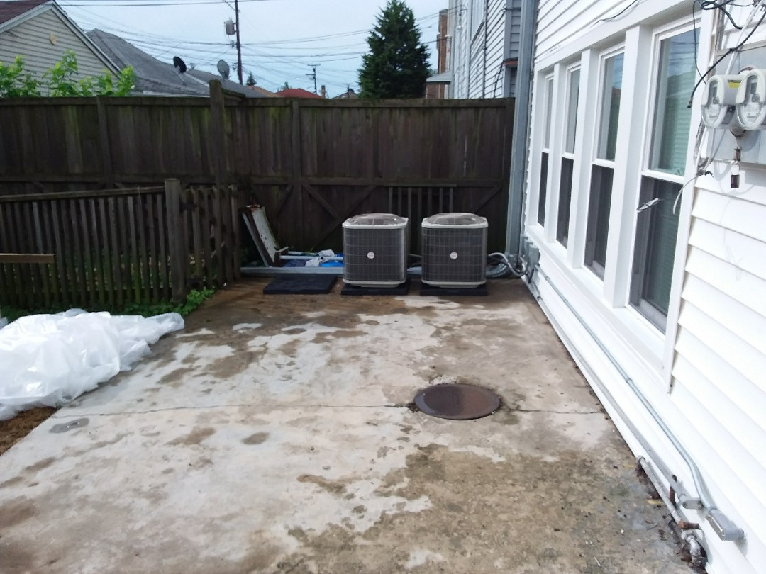 Chicago, IL - Installation of new carrier air conditioner