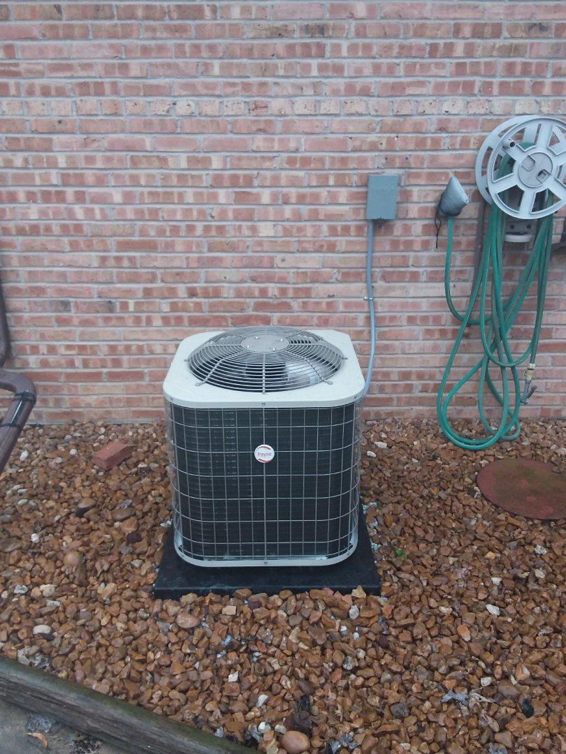 Oak Lawn, IL - Payne air conditioner installation