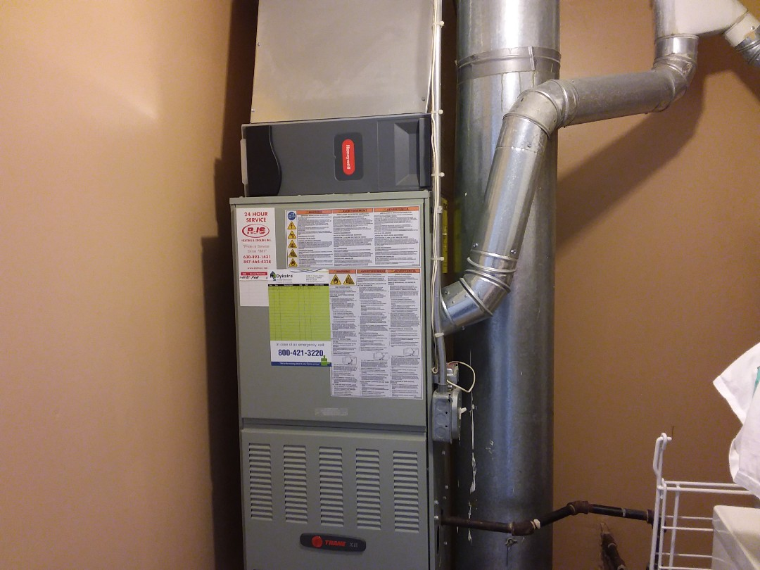 Schaumburg, IL - Furnace clean and checked