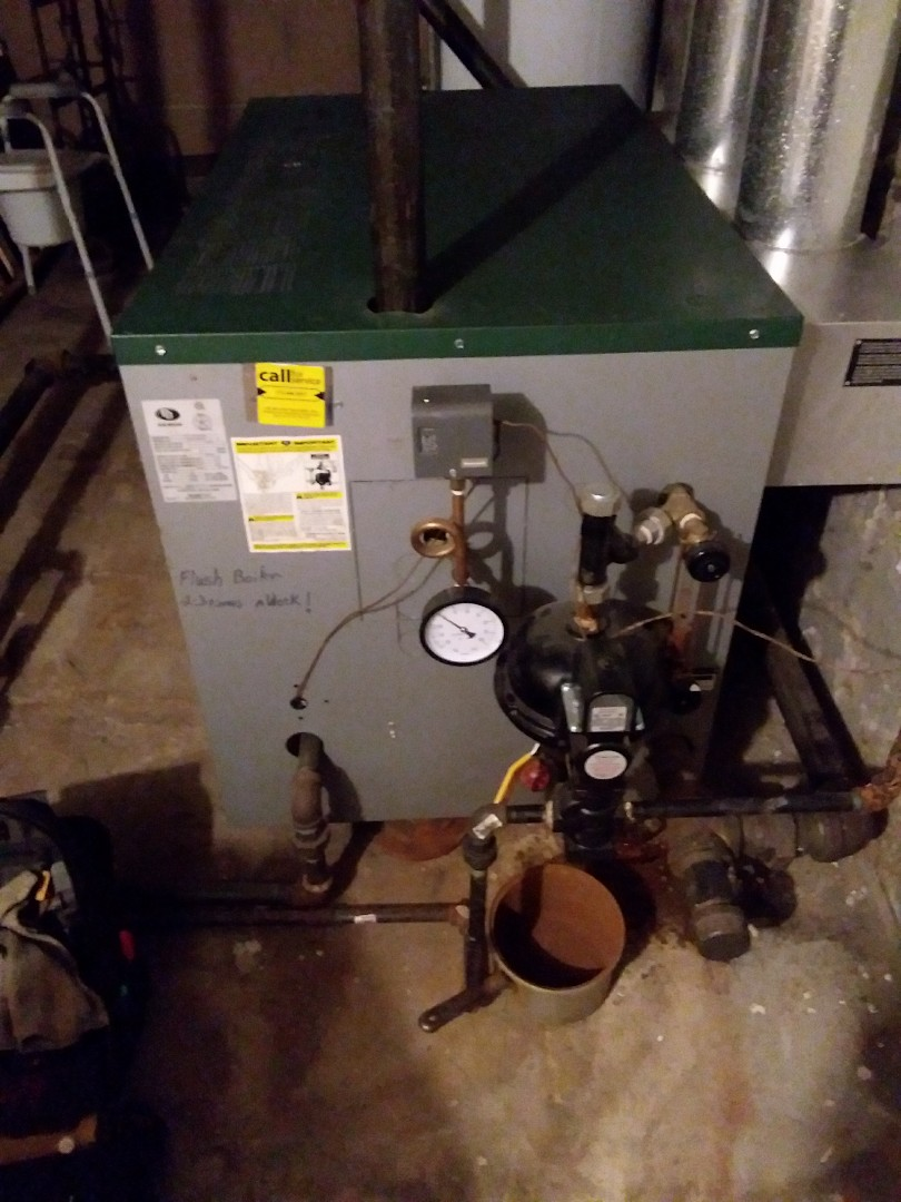 Chicago, IL - Maintaining a Peerless boiler