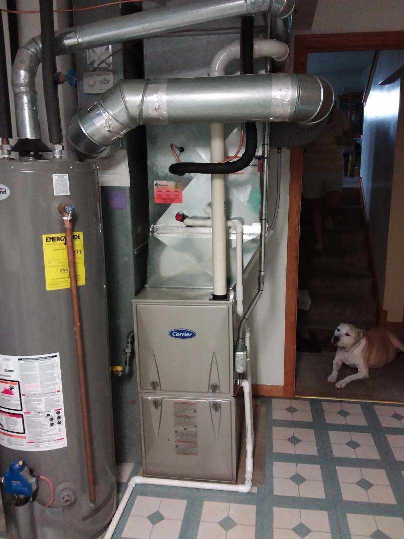 Monee, IL - Carrier furnace replacement