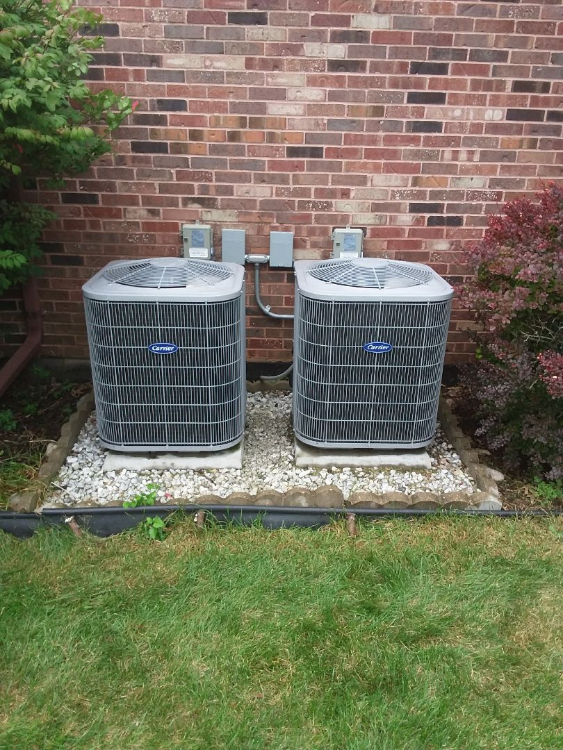 Lemont, IL - Maintaining to Carrier AC units
