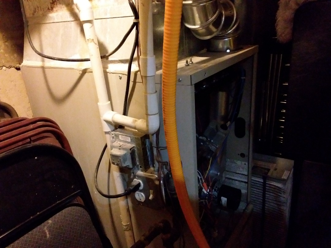 West Chicago, IL - Clean and checked furnace