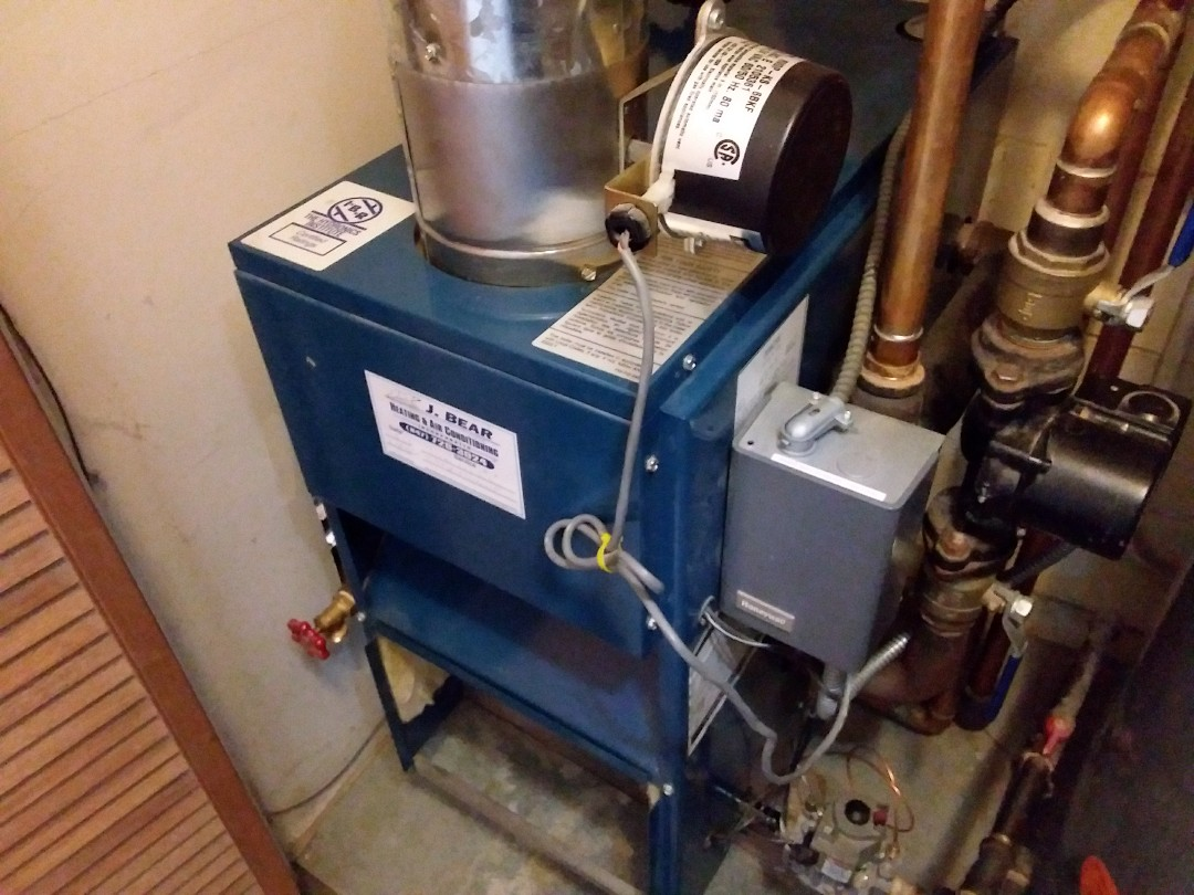 Boiler clean and check
