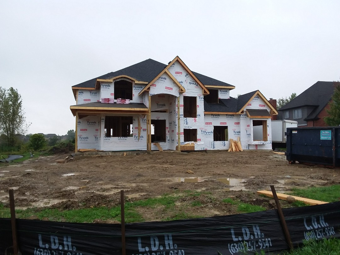 Frankfort, IL - New home construction project