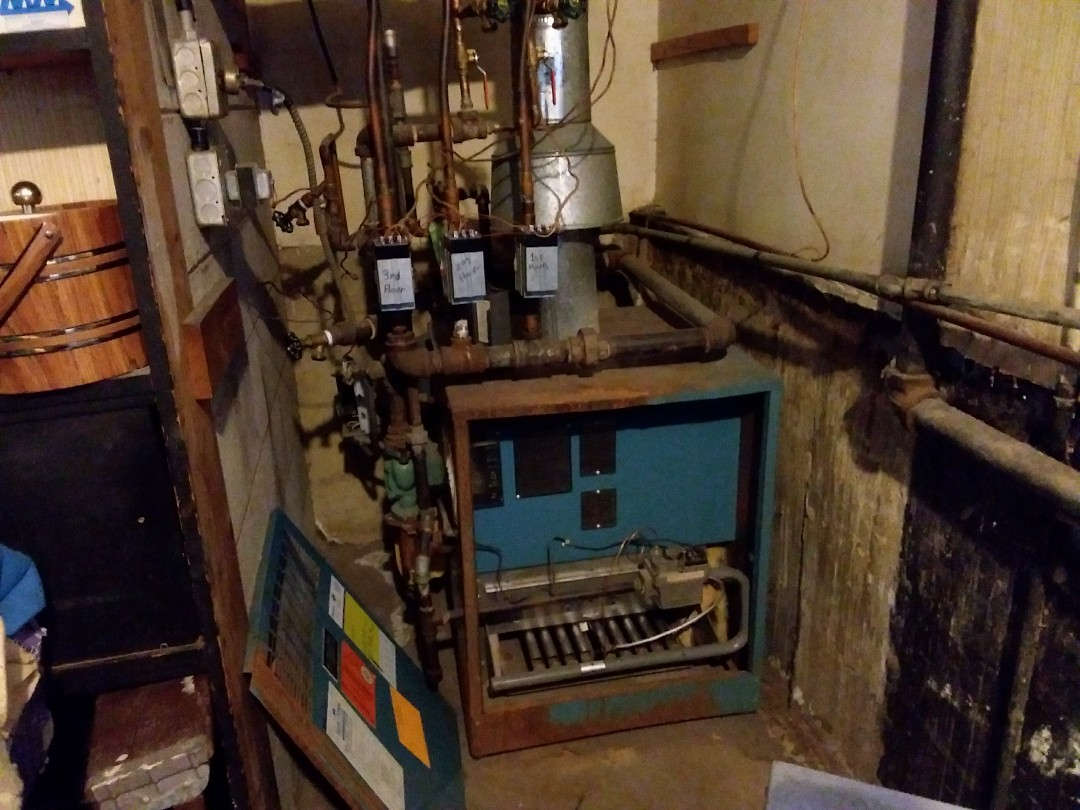 Glen Ellyn, IL - Clean and checked boiler