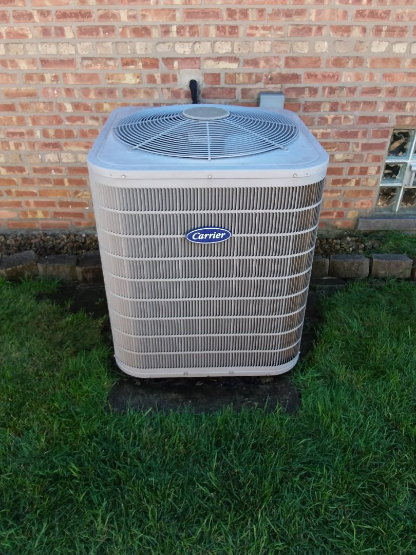 Oak Lawn, IL - Maintaining carrier furnace and AC unit