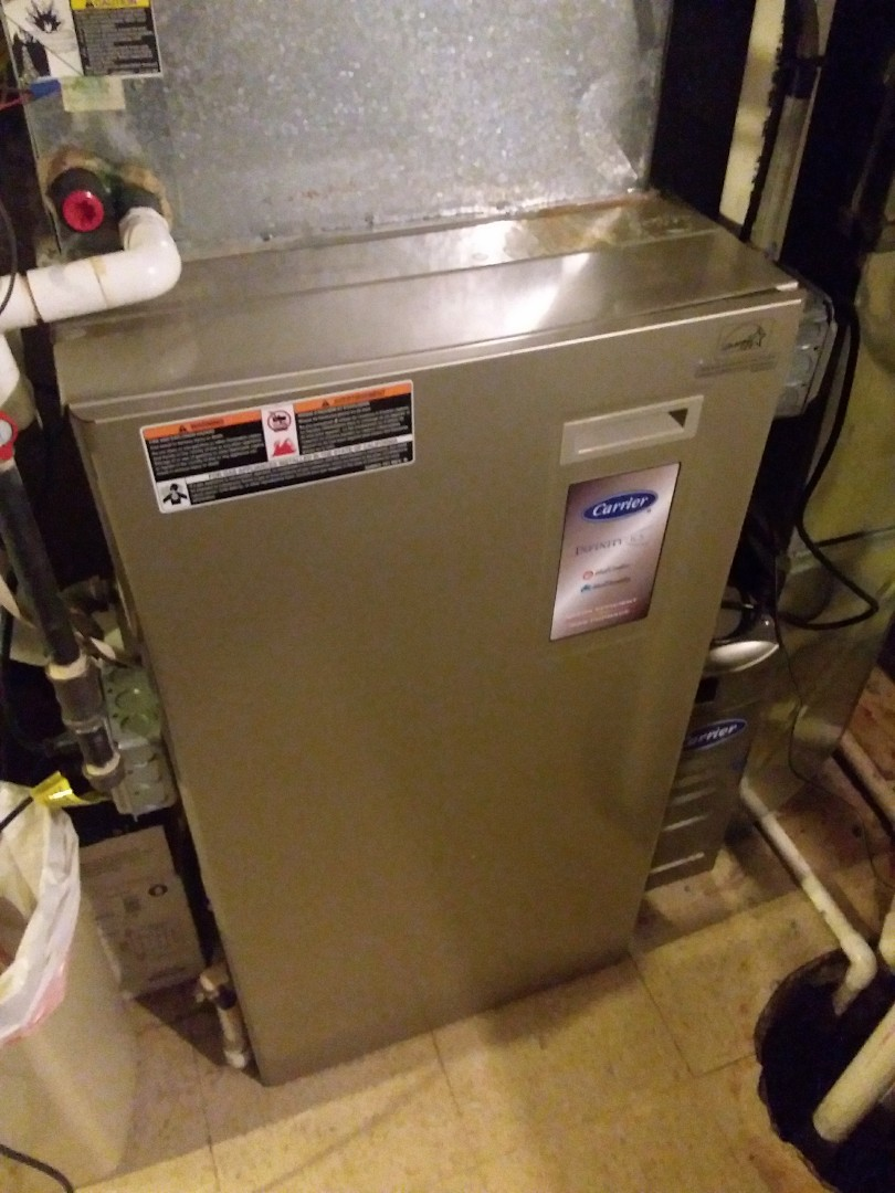Oak Lawn, IL - Maintaining a carrier furnace