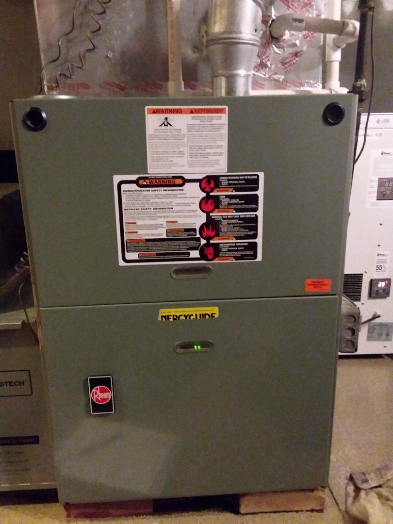 Western Springs, IL - Maintaining to Rheem furnaces