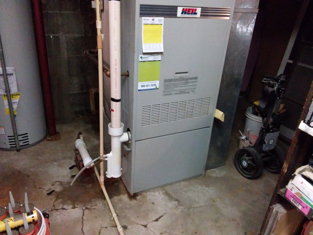 Elmhurst, IL - Clean and checked furnace and A\C