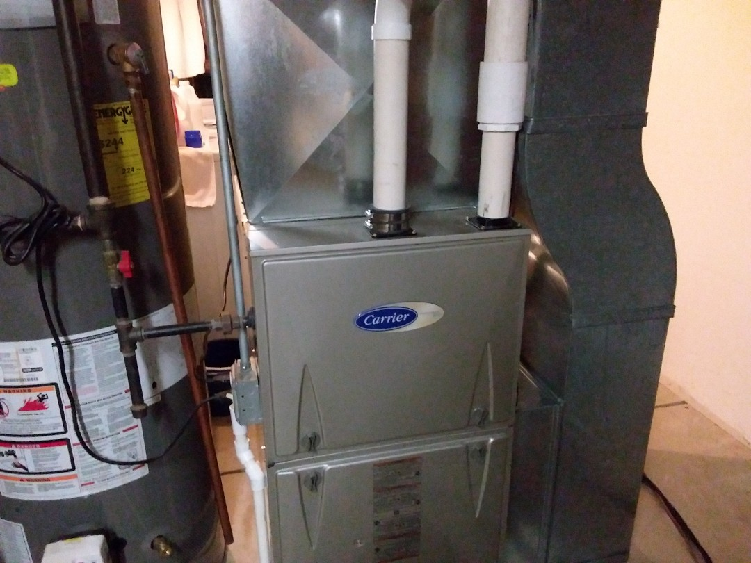 Wheaton, IL - Clean and checked furnace and humidifier
