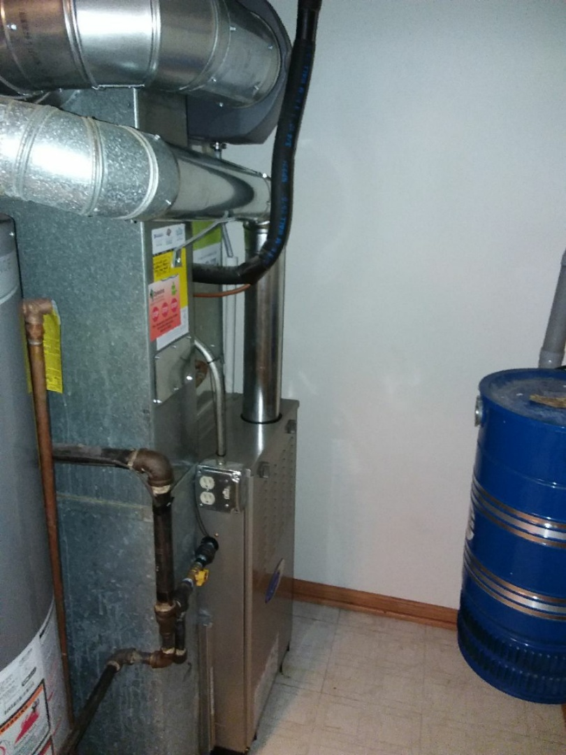 Bridgeview, IL - Carrier furnace installation