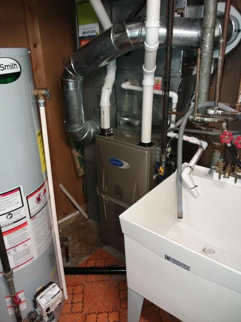 Oak Forest, IL - Carrier furnace installation