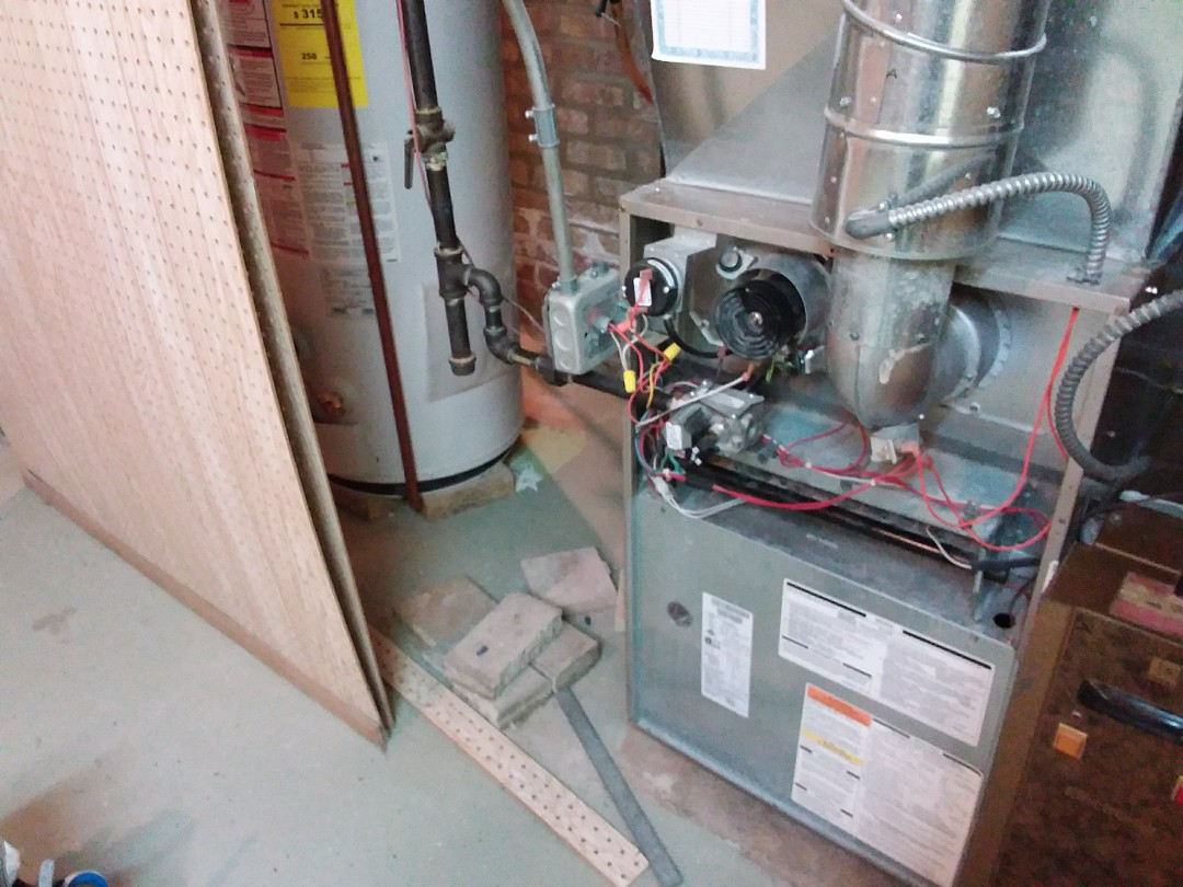 Lincolnwood, IL - Clean and checked furnace