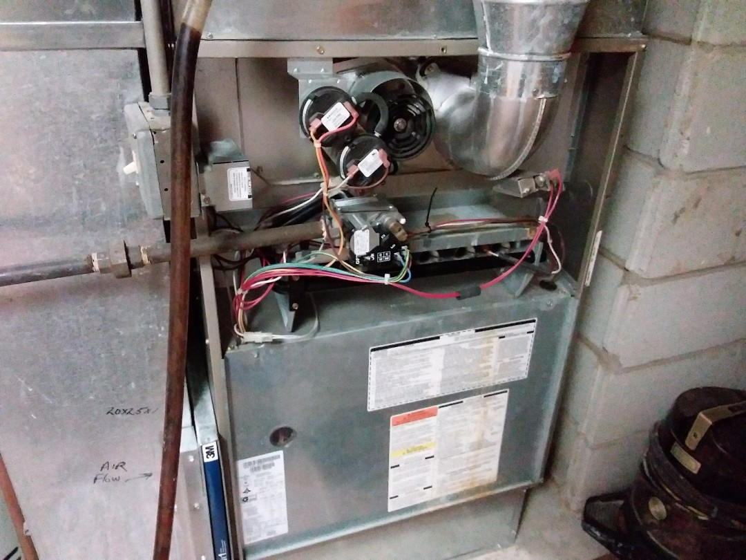 Hanover Park, IL - Clean and checked furnace