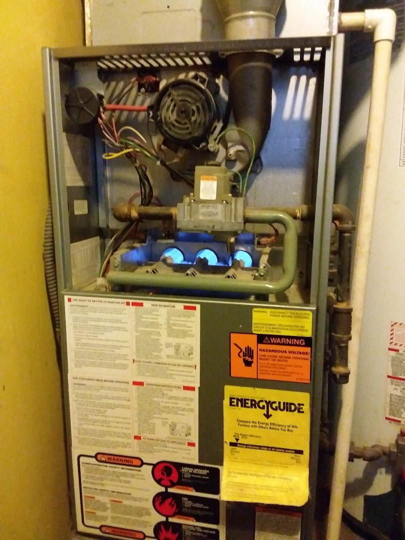 Oak Forest, IL - Repairing a Rheem furnace