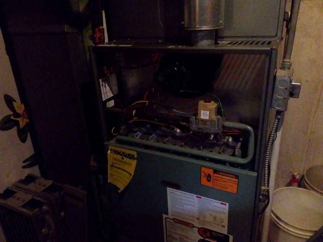 Medinah, IL - Clean and checked furnace