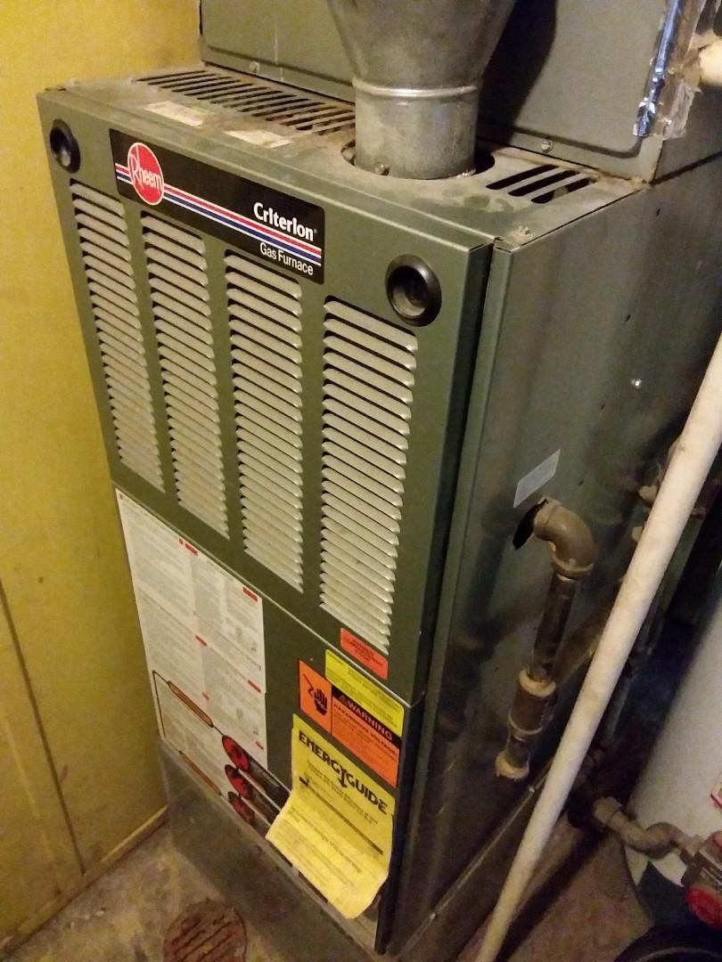 Midlothian, IL - Repairing a Rheem furnace